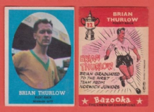 Norwich City Brian Thurlow 32
